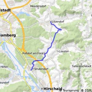 Brauereien- und Bierkellertour Variante Litzendorf - Geisfeld - Strullendorf