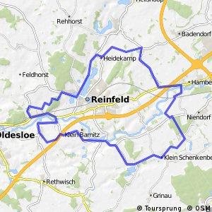 Tour 4, Radwander-Rundweg, Stormarn