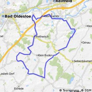 Tour 9, Radwander-Rundweg, Stormarn