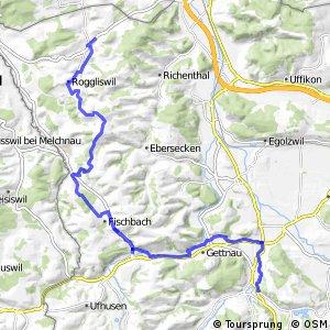 rcn 38 - Etappe Pfaffnau (Zofingen) - Willisau