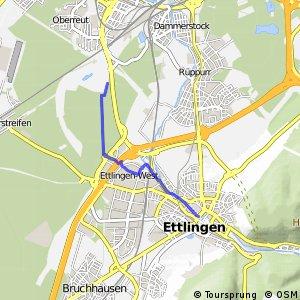 Ettlingen West-Karlsruhe West