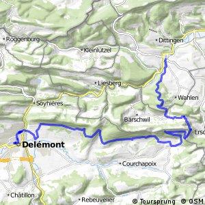 Jura Bike - Etappe 2 (Laufen-Délemont)