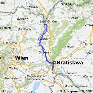 EuroVelo 13 - part Slovakia