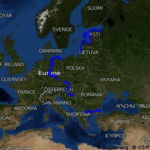 Europäische Radroute Eiserner Vorhang