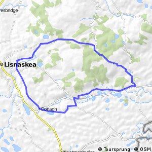 Sliabh Beagh Route 5 - Carrick Na Brattogh Trail