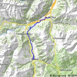 ncn 6 - Etappe 1 (Chur-Thusis)