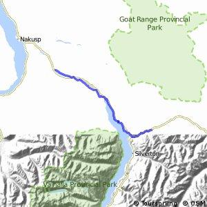 Nakusp & Slocan Rail Trail