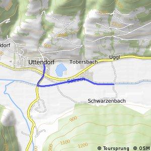 Tauernradweg - Variante Uttendorf-Schwarzenbach