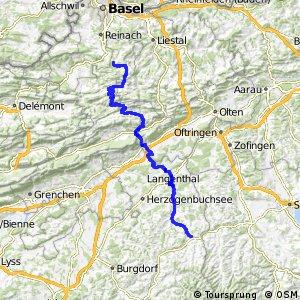 rcn 71 Passwang Oberaargau, Dornach-Huttwil