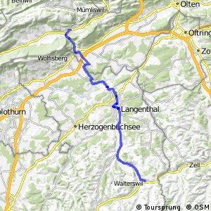 rcn 71 - Etappe 2 (Balsthal - Huttwil)