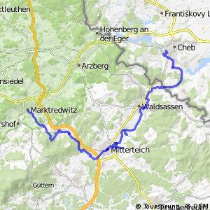 Wallenstein Radweg Südroute