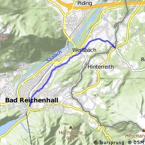 Tauernradweg - Variante Marzoll