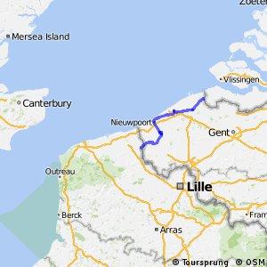 Euroroute R1 - part Belgium