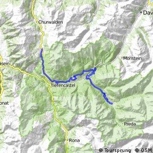 Graubünden Bike - Etappe 7 (Bergün–Lenzerheide)