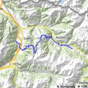 Graubünden Bike - Etappe 3 (Untervaz–Küblis)