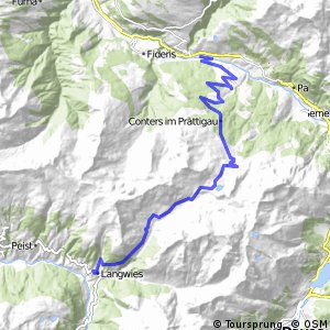 Graubünden Bike - Etappe 4 (Küblis–Langwies)