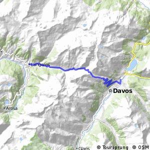 Graubünden Bike - Etappe 5 (Langwies–Davos)