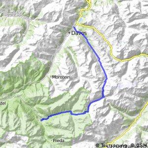 Graubünden Bike - Etappe 6 (Davos–Bergün)