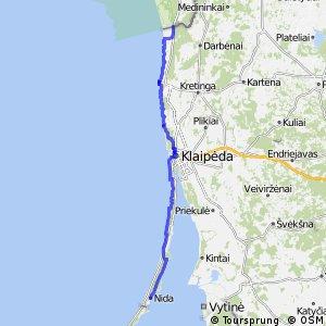 Euroroute R1 - part Lithuania