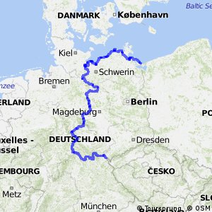 EuroVelo 13 - part Germany