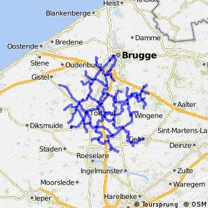Fietsroutenetwerk B Brugse Ommeland Zuid