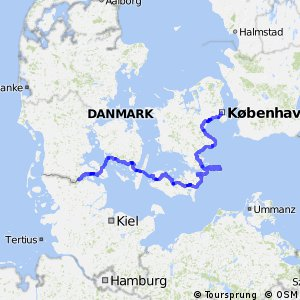 EuroVelo 10 - part Denmark