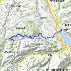 Panorama Bike - Etappe 11 (Thun–Sangernboden)