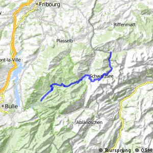 Panorama Bike - Etappe 12 (Sangernboden-Charmey)