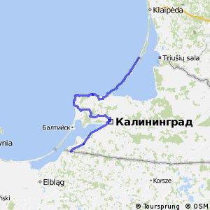 EuroVelo 10 - part Kaliningrad Oblast