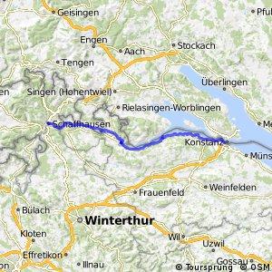 Rhein und Untersee Tour
