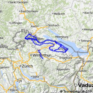 Local cycling network of Switzerland