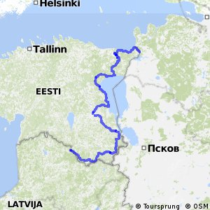 Euroroute R1 - part Estonia