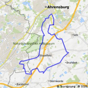 Tour 18, Radwander-Rundweg, Stormarn
