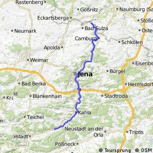 [D11] Ostsee-Oberbayern [Thüringen Nord]