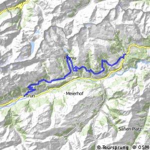Graubünden Bike - Etappe 1 (Trun - Laax)