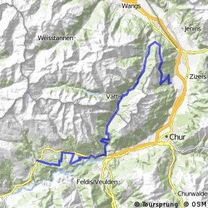 Graubünden Bike - Etappe 2 (Laax - Untervaz)