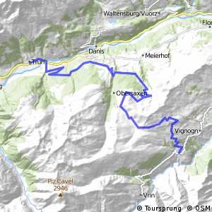 Graubünden Bike - Etappe 11 (Lumbrein - Trun)