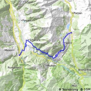 Graubünden Bike - Etappe 8 (Lenzerheide - Thusis)