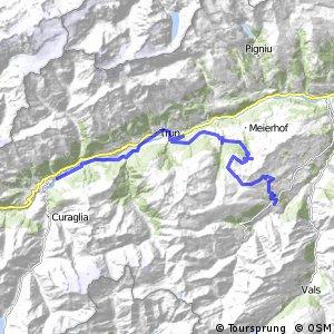 Alpine Bike - Etappe 8 (Lumbrein - Disentis)