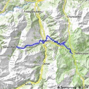 Alpine Bike - Etappe 6 (Tiefencastel - Safien Platz)