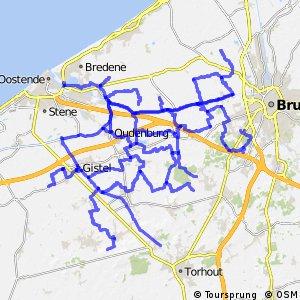 Fietsroutenetwerk B Brugse Ommeland Noord