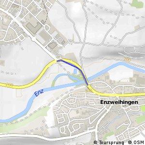Vaihingen/Enz Vaihinger Eck - Enzweihingen Bruckwasen