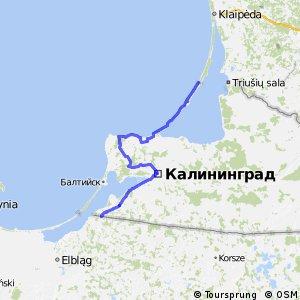 Euroroute R1 - part Kaliningrad