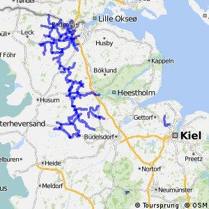 Radverkehrsnetz Kreis Schleswig-Flensburg und Flensburg