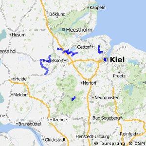 Radverkehrsnetz Kreis Rendsburg-Eckernförde und Kiel