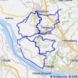Radverkehrsnetz Kreis Pinneberg
