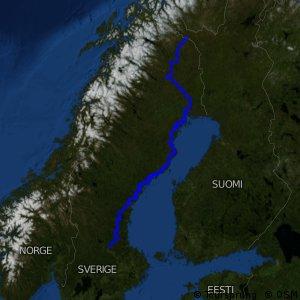 EuroVelo 7 - part Sweden north