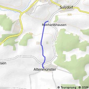 Altenmünster - Sulzdorf Süd