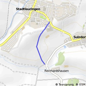 Stadtlauringen Süd - Sulzdorf Süd