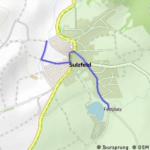 Sulzfeld Badesee - West